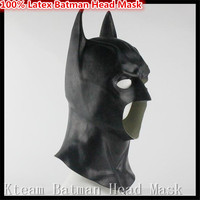 New Famous Movies Batman Mask Full Head Batman Vs Superman Mask Dark Knight Latex Mask Cosplay Batman Mask Halloween Party Props