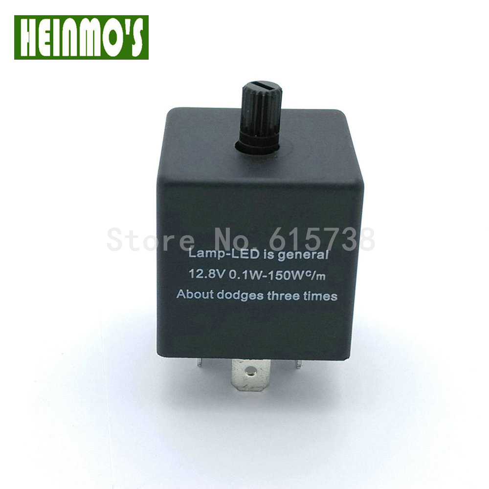 CF13KT adjustable frequency flasher controller car and motorcycle Universal Adjustable Flasher Universal Flasher relay 12V 2pcs cf18 kt led flasher 8 pin adjustable relay module fix auto car signal error flashing blinker 81980 50030 06650 4650 150w