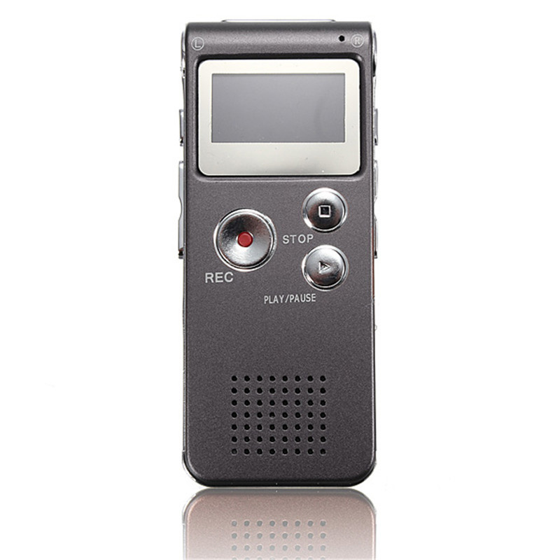 LEORY 4 Colors Professional 8GB Rechargeable 650Hr Digital Audio/Sound/Voice Recorder Dictaphone Telephone MP3 Player
