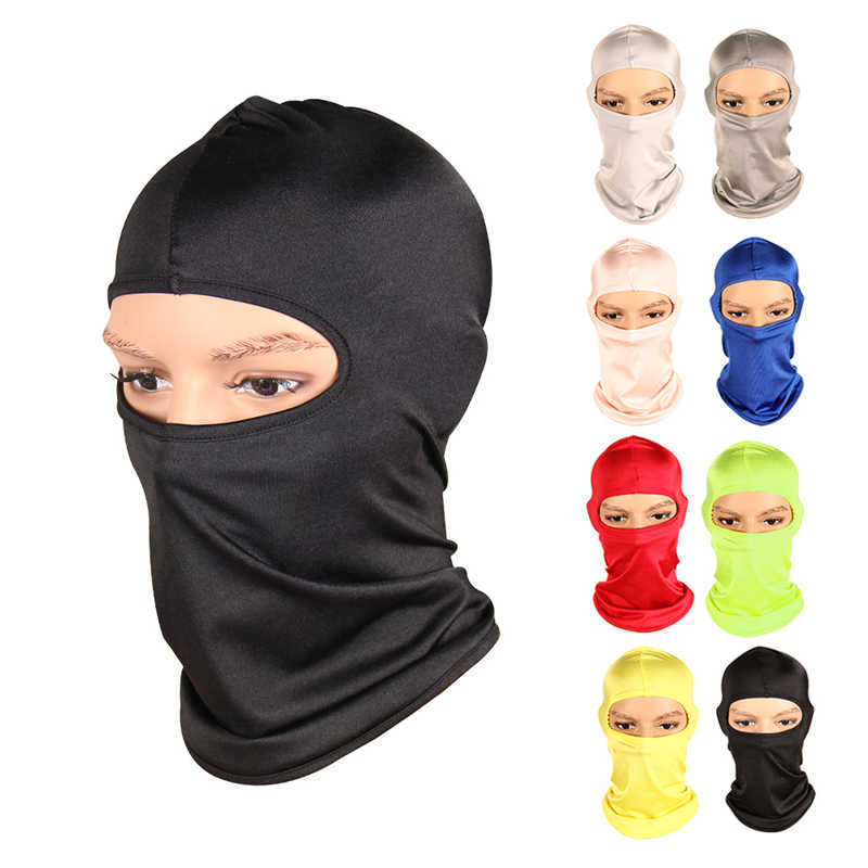 2019 New Outdoor Sports Windproof Face Mask Winter Neck Warmer Balaclava Face Mask for Skiing Motorcycle Cycling Climbing Mask