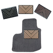1PC Universal Black PVC Car Floor Carpet Pad Heel Foot Mat Pedal Patch Cover 25x15cm Car Foot Pad Car Mat цена в Москве и Питере