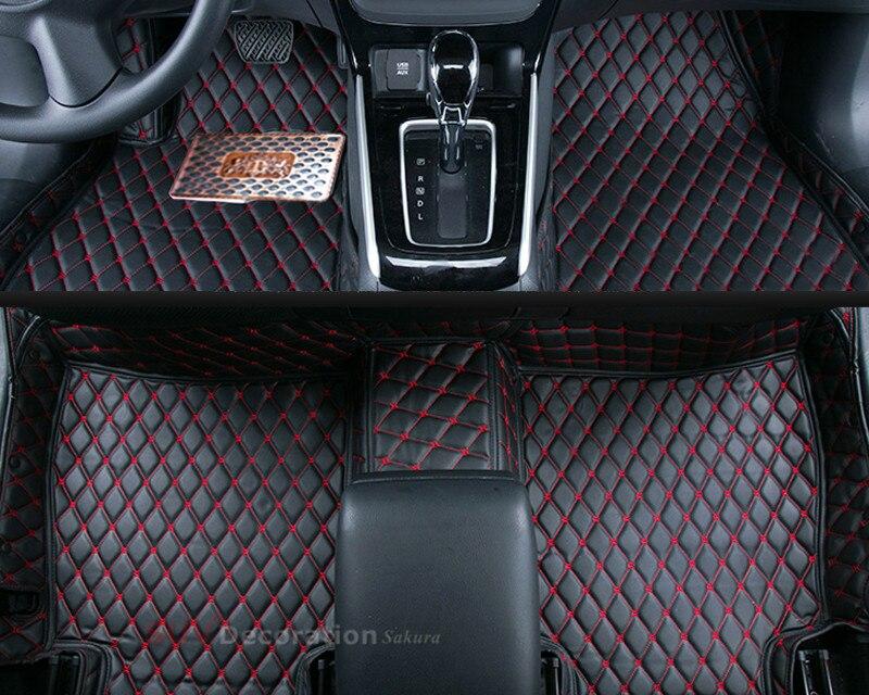 Accessoires Pour Nissan Sylphy G11 2005-2011 Accessoires Intérieur En Cuir  Tapis Couverture Tapis de sol de Voiture Tapis de Sol 1 set f61c8ba9c8ec