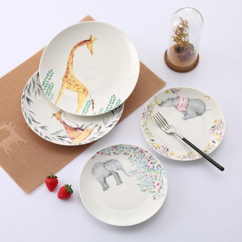 Scandinavian Style Creative Ceramic Western Dish European