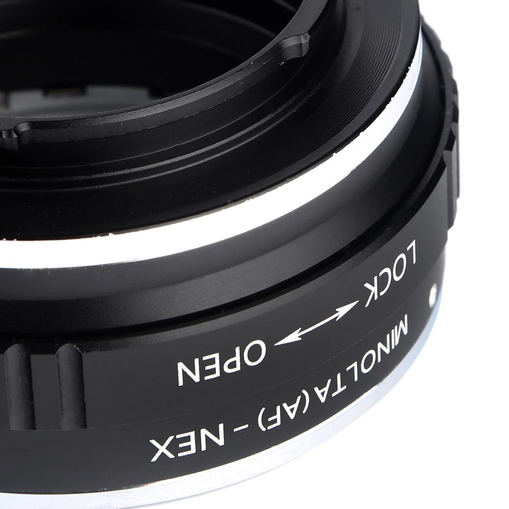 K&F CONCEPT MINOLTA (AF) -NEX Lens üçün Adapter üzüyü Minolta - Kamera və foto - Fotoqrafiya 4
