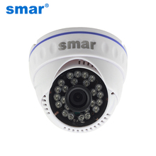 CCTV Mini IP Camera 720 P Security HD 1.0 Megapixel Network Indoor Dome Video Camera 24 Infrared H.264Onvif P2P Cloud Best Price