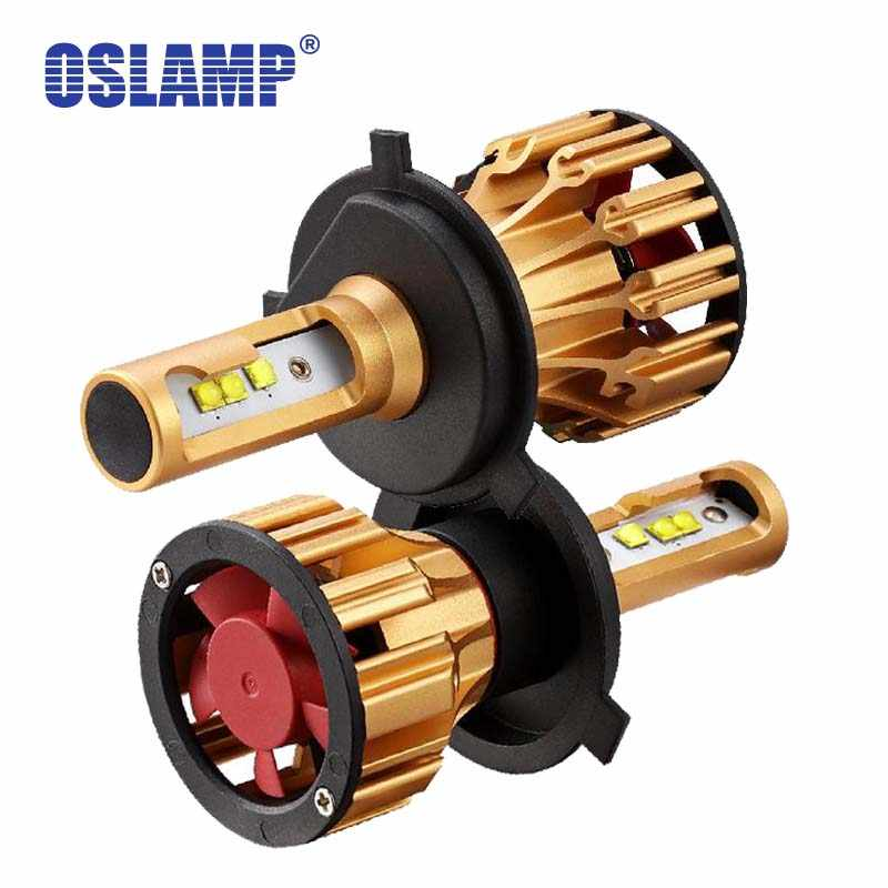 Oslamp T6 H4 Led Car Headlight Bulbs 70W 7000lm SMD Auto Headlamp  Light H4 Led For MERCEDES-BENZ/Prius/S-Class/Sequoia