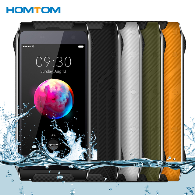 "Presale HOMTOM HT20 Pro Tri Proof IP68 4G Smartphone MTK6753 Octa Core 4.7 ""1280*720P 3G+32G 8MP+16MP Camera 3500mAh Mobilephone"