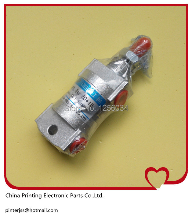 5 pieces air cylinder for heidelberg CD102 and SM102 size 20*15, air cylinder for printing machine 00.580.3384 heidelberg printing machine special ink transfer combined pressure cylinder 20 20 air cylinder for heidelberg