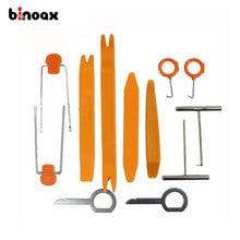 Binoax 12 Pcs/SeT Plastic Car Radio Door Clip Panel Trim Dash Audio Removal Pry Tool Repairing