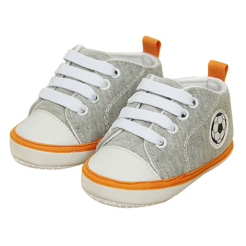 Baby Girls Boys Fashion 0-18 Month Unisex Kids Baby Soft Soled Crib Sports Shoe Laces Up Sneakers Walking Prewalker