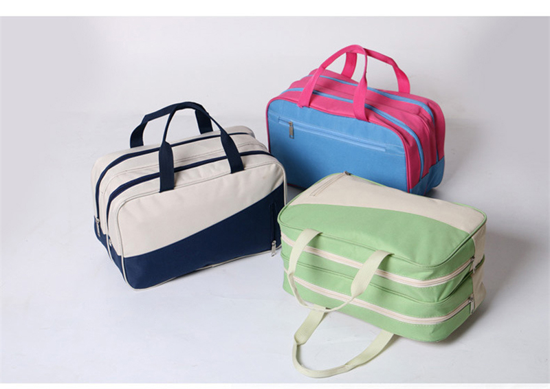 Women Travel Bags Dual-Use Oxford Leather Large Capacity Waterproof Print Luggage Duffle Bag Casual Travel Bags