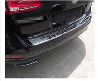 ABS Rear sill bumper cover Plate For VW Volkswagon Touareg 2011 2014