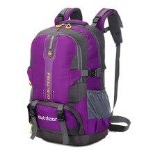 Big Capacity 50L Outdoor Bag Hunting Travel Waterproof Backpack Men&Women Camping Hiking Backpacks Sports Bag