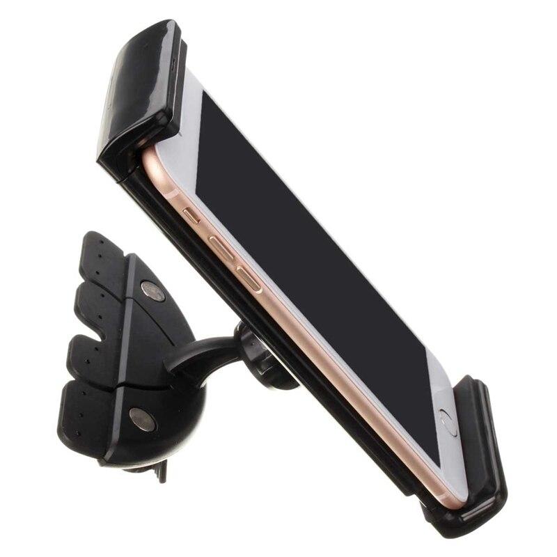 Adjustable Universal Car CD Slot Phone Tablet Mount Holder Stand For Ipad 1 2 For Samsung
