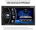 Универсальный Авто Радио Dvd-плеер Автомобиля Радио Bluetooth V3.0 7 inch В тире Стерео 2 din DVD/USB/SD/MP4 Плеер FM/AM Радио