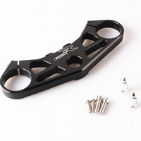 CNC Aluminum For Suzuki GSXR 1000 2005 2006 Motorcycle Front Fork Lowering Triple Tree Upper Top Clamp Black