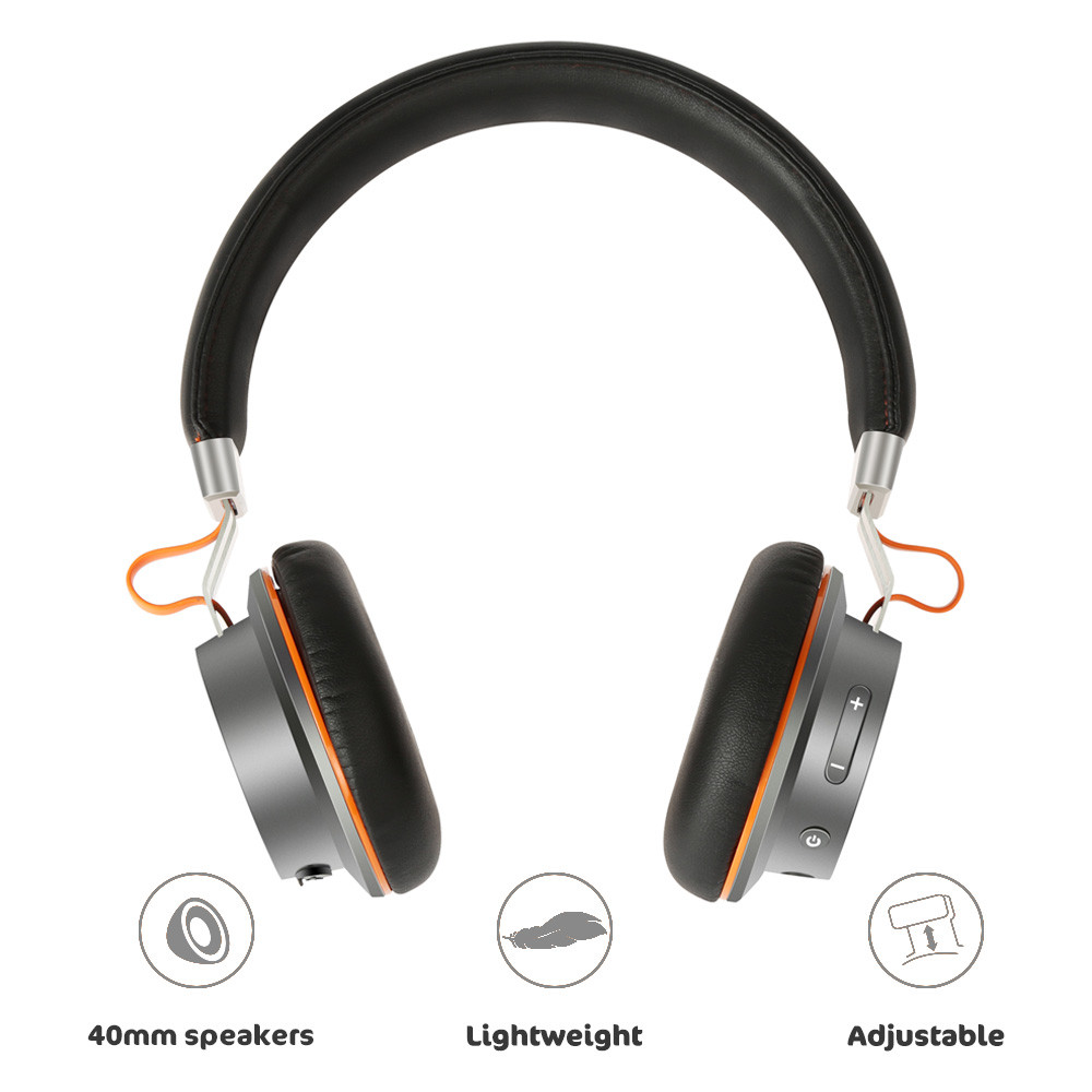 HiFi NUBWO S2 Active Noise Cancelling Wireless Bluetooth Portable Headset laser carving techniques For Mobile/Tablet Devices 20