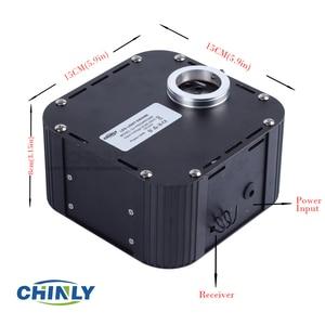 Image 5 - 50W DMX512 Unterstützt Twinkle RGBW Fiber Optic Lichter Kit Decke Meteor Starry Sky Wirkung 400 zu 835 steht 4  5m Optische Kabel