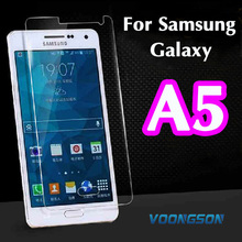 VOONGSON A5 2016 A510 Premium Tempered Glass For Samsung Galaxy A5 A500 A500F A500H Screen Anti Shatter Protector Film