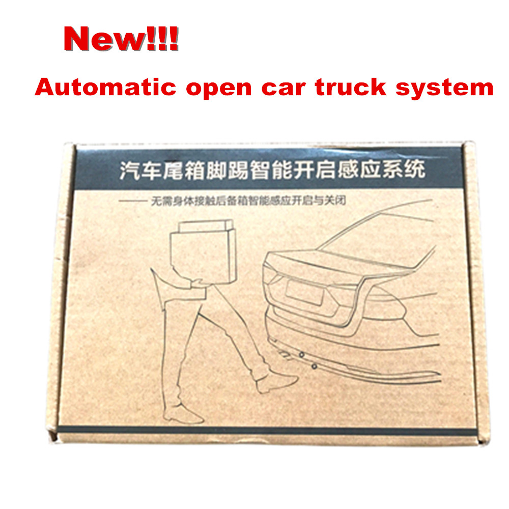 2018 plus récent contrôle d'action de coup de pied ouvert/fermé coffre de voiture démarrage intelligent système de capteur d'ouverture automatique boîte arrière automatique
