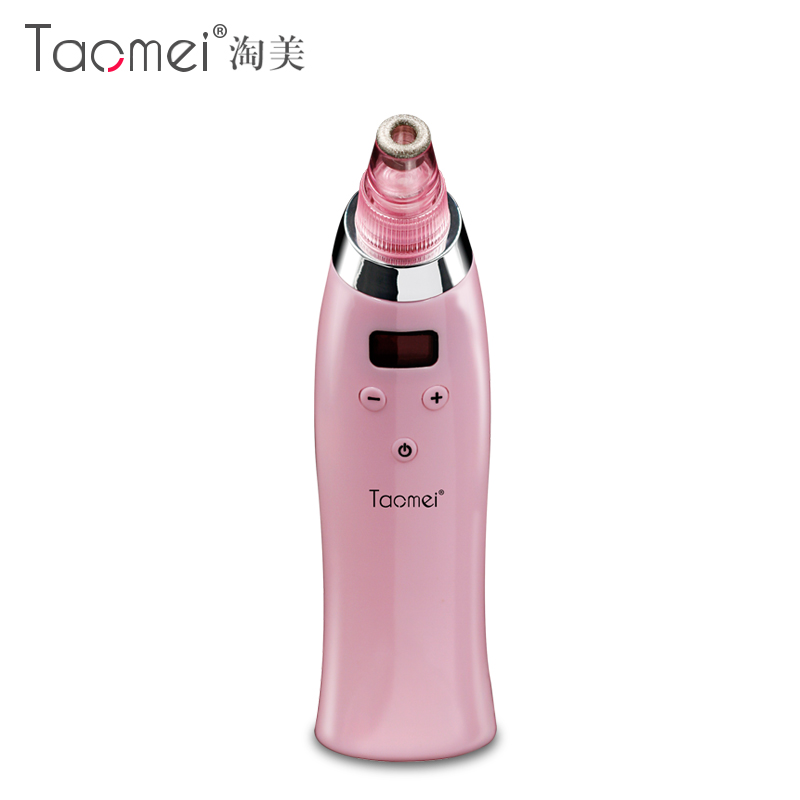 Sucting blackhead cute magic artifact pores cleaning beauty instrument for acne facial cleansing equipment two colors available black pores clean facial blackhead oxygen injection uptake salon household facial cleaning machine beauty instrument