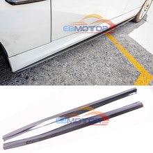 Боковая юбка из углеродного волокна 1 пара для BMW E90 E91 E92 E93 M TECH M SPORT только B461