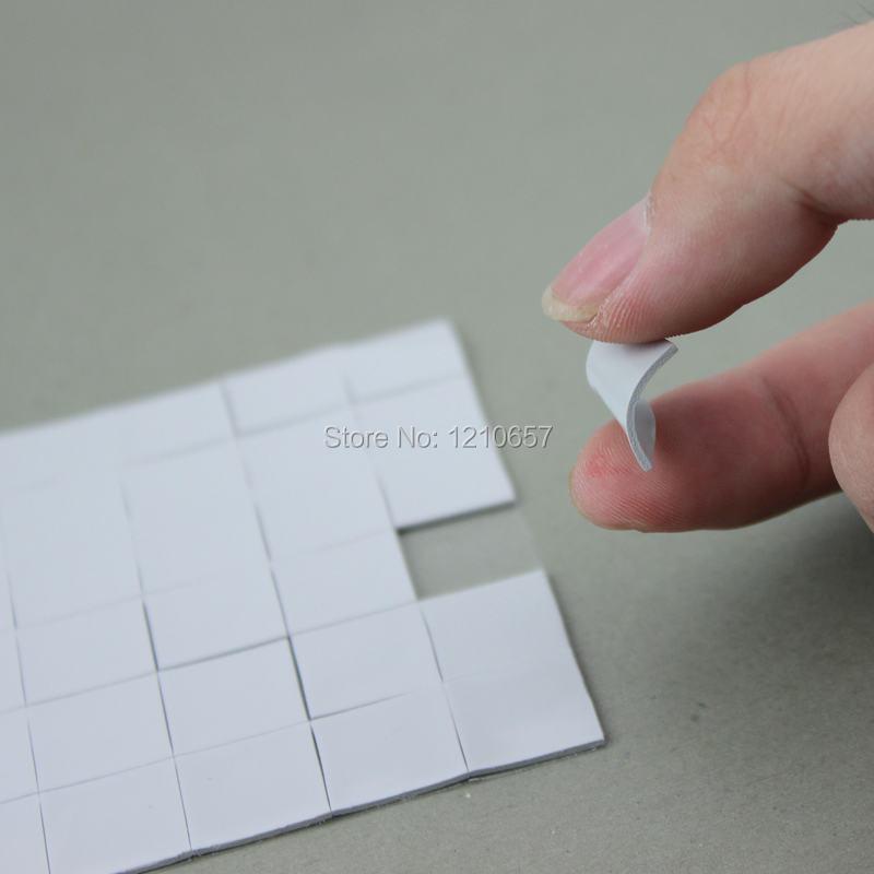 100Pieces Lot Mini 15 x 15 x 1mm IC Chip Xbox PS PC VGA Chipset Heatsink Radiator Silicone White Thermal Pad