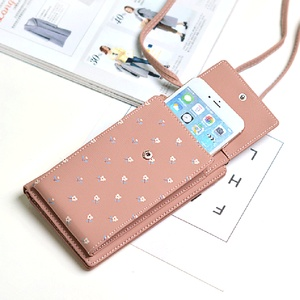 Image 2 - TOKOHANSUN Universal Casual Bag Multilayer Mobile Phone Case Wallet Card cell phone shoulder strap wallet For iPhone For Huawei
