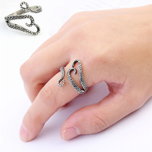 New Arrival 1PC Punk Style Titanium Steel Unisex Silvery Boys and Girls Octopus Devilfish Rings Fashion Jewelry