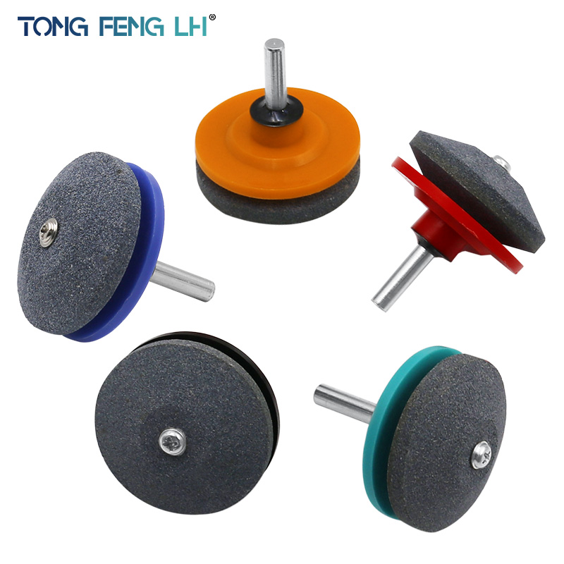 50MM Faster Lawn Mower Sharpener Lawnmower Blade Sharpener Universal Grinding Rotary Drill Cuts