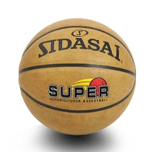 New Sports High Quality Basketball Leather Ball Size 7 Sport Outdoor/Indoor Basket ball Training/Game With Net +Bag+Gas needle