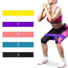 Resistentsuslint Bändid Elastsed kummist ribad Fitness Strenth Training Workout laiendamiseks Muscle Mini Bands Gym Fitness Equipment