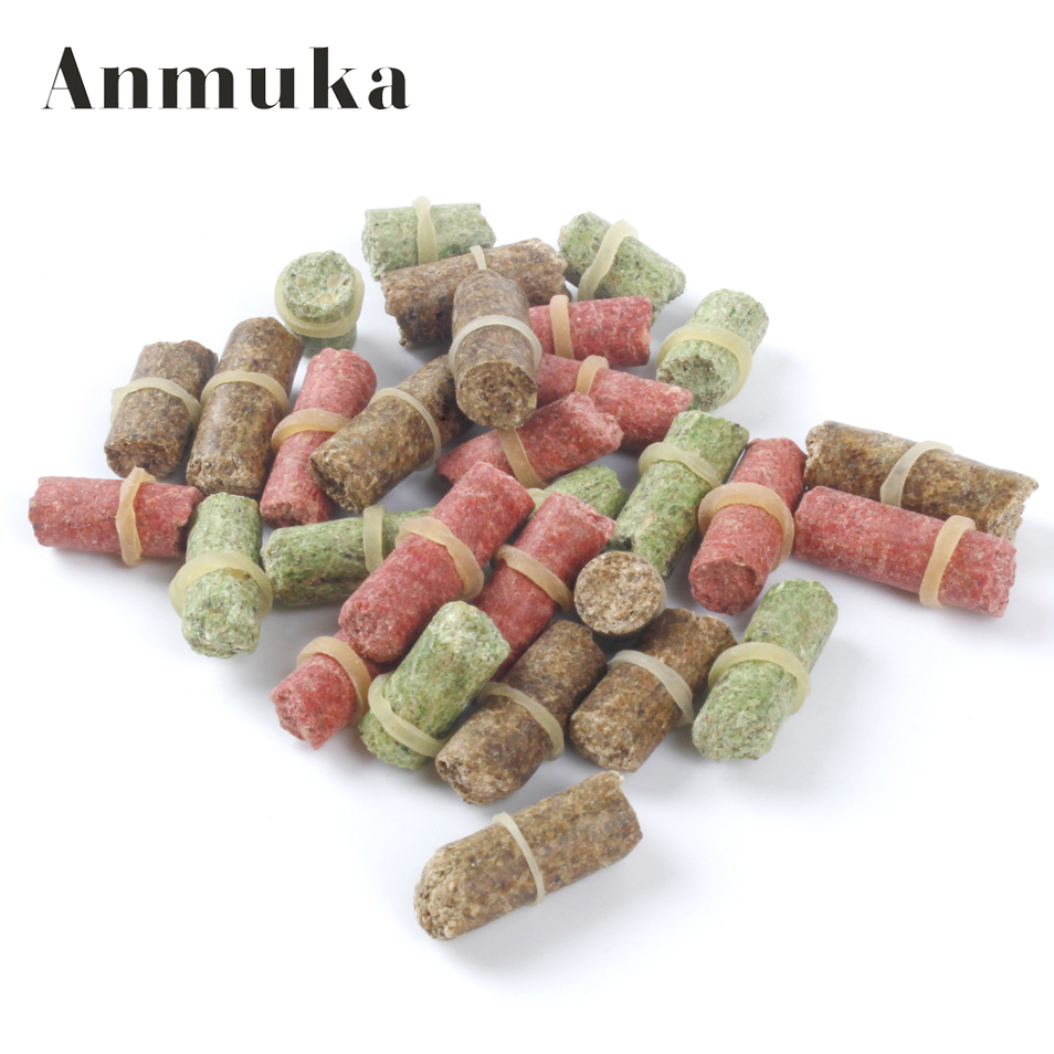 Купить со скидкой Anmuka FREE SHIPPING hot sell three colour smell lure grass carp bait  insect elastic particle rods