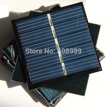 BUHESHUI Wholesale 0.42W 2.5V Solar Panel Solar Cell Polycrystalline DIY Solar Toy Panel Education 54*54MM 100pc Free Shipping