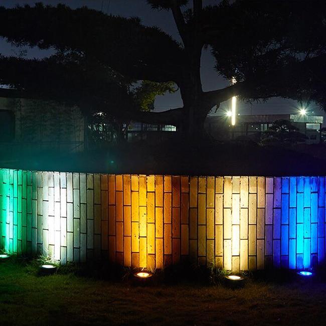 Luzes LED Subterrânea Enterrado Lâmpadas de Iluminação