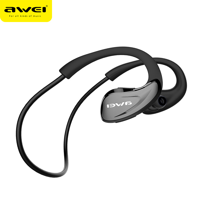 Awei A880BL Bluetooth Écouteurs Pour Téléphone Sans Fil Casque avec Microphone NFC APT-X Sport Auriculares 8 Heures Temps de Musique