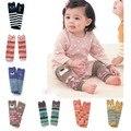 Мальчики девушки рычаг гетры хлопка малыша носки детей полосатые носки