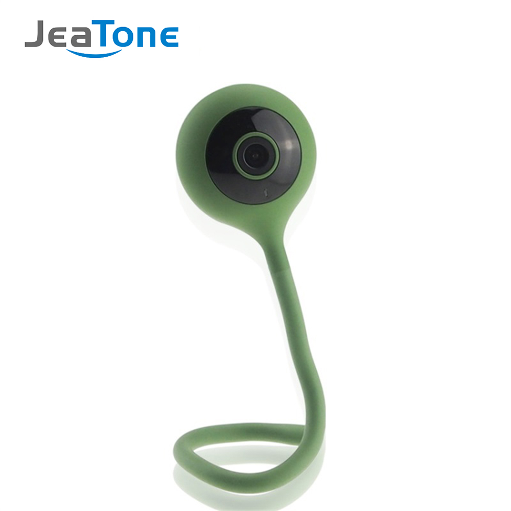 JeaTone Wireless IP Camera 720P HD WiFi Network Security Night Vision Audio Video Surveillance Camera Smart Home Baby Monitor giantree recorder hd ip camera 360 degrees baby monitor wireless network camera night vision audio video home surveillance