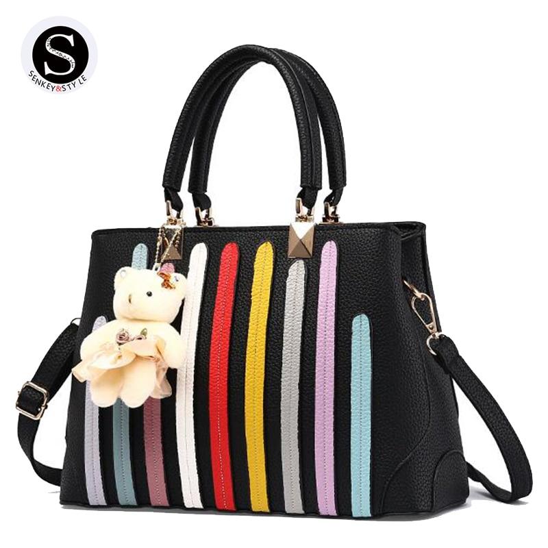 Estilo Senkey Mujeres messenger bags bolsos mujeres famosas marcas de lujo mujer