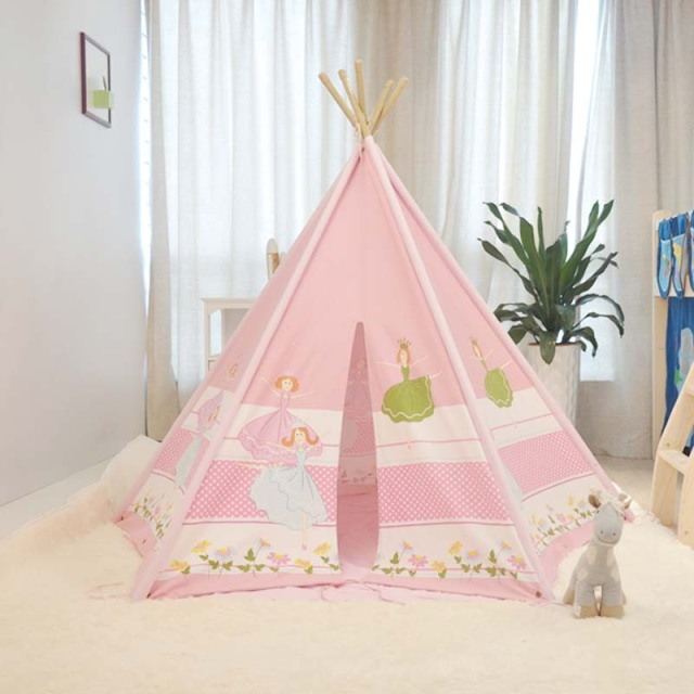 3 -7 years old baby girl ballet cotton children tent indoor game room The princess : girl play tents - memphite.com