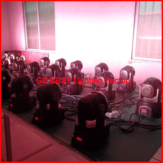 20pcs/lot Stage Wash Light Moving Head 7/12 Channels LED 7x10W RGBW Quad LEDs