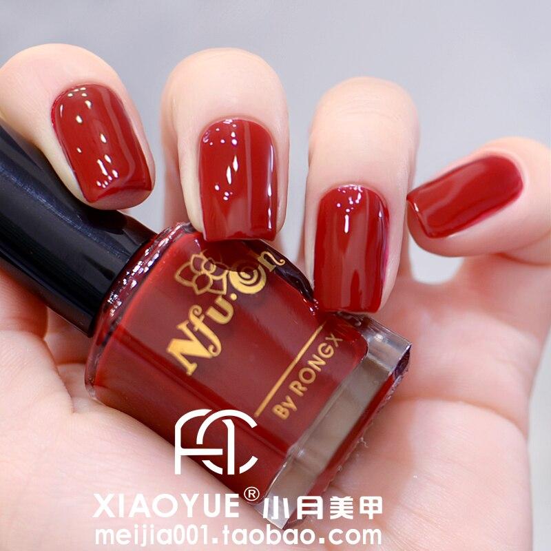 Candy Color Nail Polish: Wine Red Nail Polish Oil Nfu . Oh Eco Friendly Nail Polish