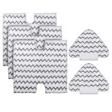 цены на Washable Microfiber Replacement Steam Mop Pads For Shark Lift-Away Pro/Genius Steam Pocket Mop 3973 S3973D S5002 S5003 S6001 S  в интернет-магазинах