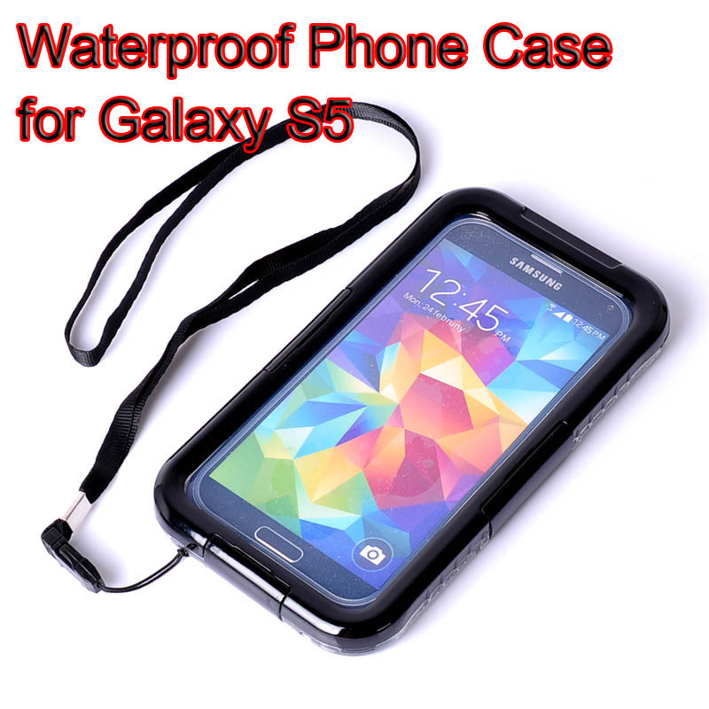 best website 54a7e 4e92c US $9.95 |For Galaxy S5 Aksesuar Shockproof Waterproof Touch Screen+Strap  Mobile Phone Accessories Cases for Samsung Galaxy S5/S4/S3 i9300 on ...