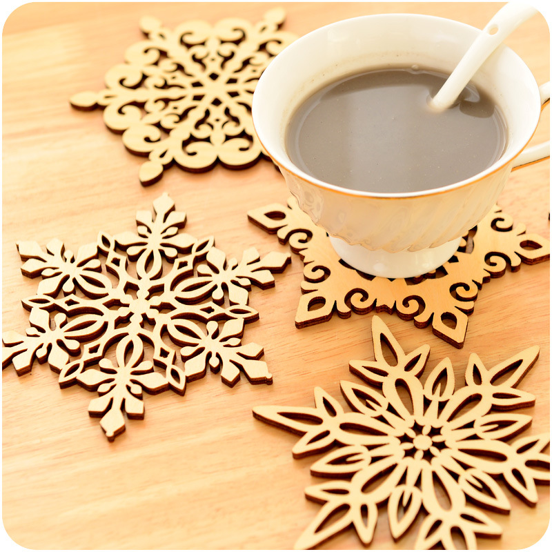 Lovely 2015 Real Deer Head Wooden Letras De Madera Wedding 12cm Hollow Making Drink  Coasters Easter Wood Crafts Snowflake Pattern On Aliexpress.com | Alibaba  Group Amazing Ideas
