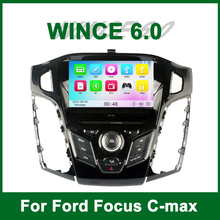Touch Screen Car DVD Video Player GPS for Ford Focus 3 C Max 2011 with Radio Bluetooth support Wifi 3G Ipod