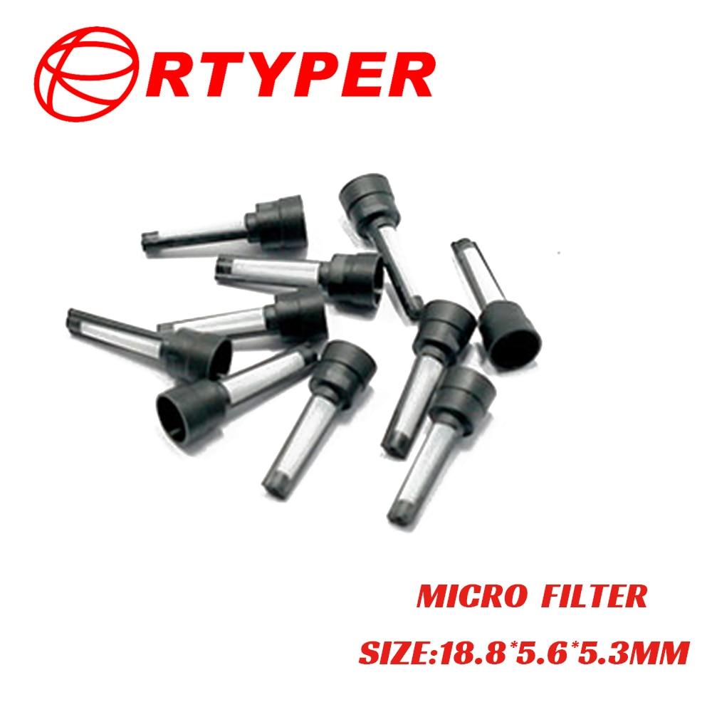 50 PCS Fuel Injector Micro Filter 11021 For 12613412 Silverado Sierra Subaru Impreza Legacy WRX