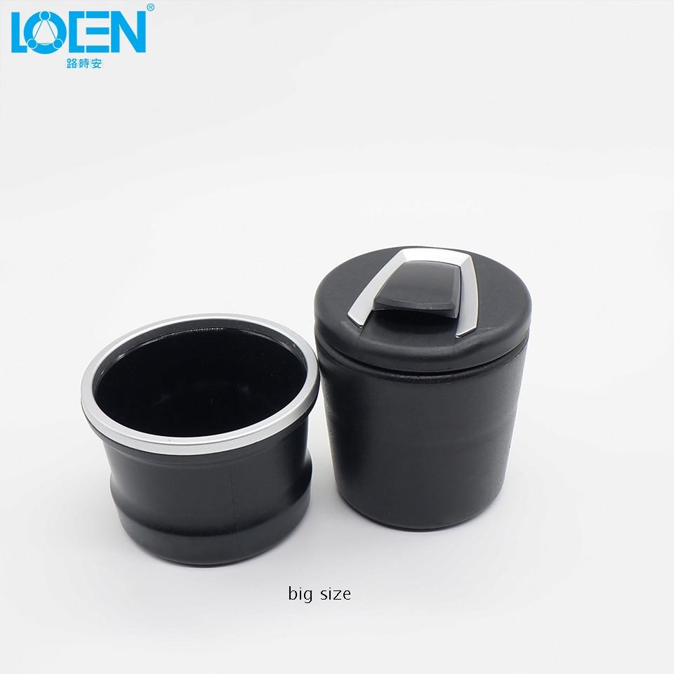 높은 품질 1PC 유니버설 홈 오피스 애쉬 라운드 검은 - 자동차 인테리어 용 액세서리 - 사진 4
