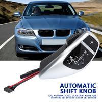 LHD автоматический светодиодный Шестерни рукоятка рычага переключения передач для E90 E91 E93 E81 E82 E84 E87 E88 E89 рычаг переключения передач автомобил