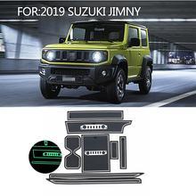 Для Suzuki JIMNY JB64W Правосторонняя дверь Слот Модифицированная водная подставка красный/белый/черный Автомобильный интерьер Аксессуары 8 шт./1 комплект